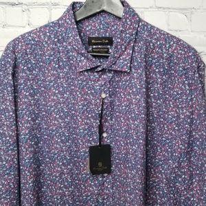 NWT Massimo Dutti mens dress shirt